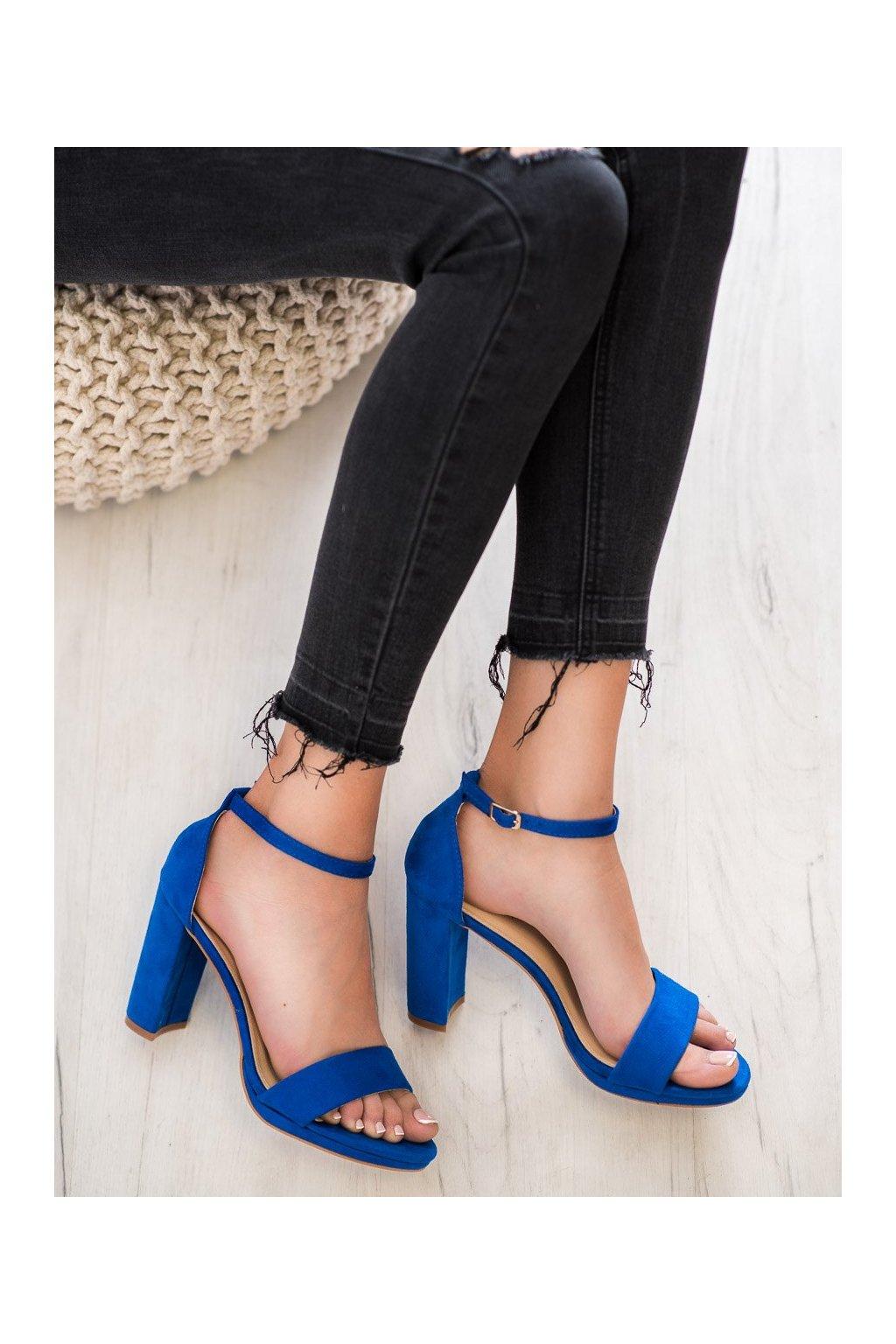 Modré sandále Goodin NJSK GD-OD-20BL