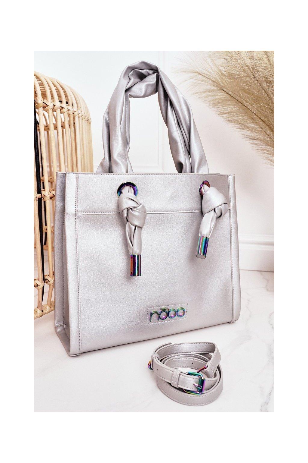 Dámska kabelka sivá kód kabelky NBAG-K1090-C022 SILVER