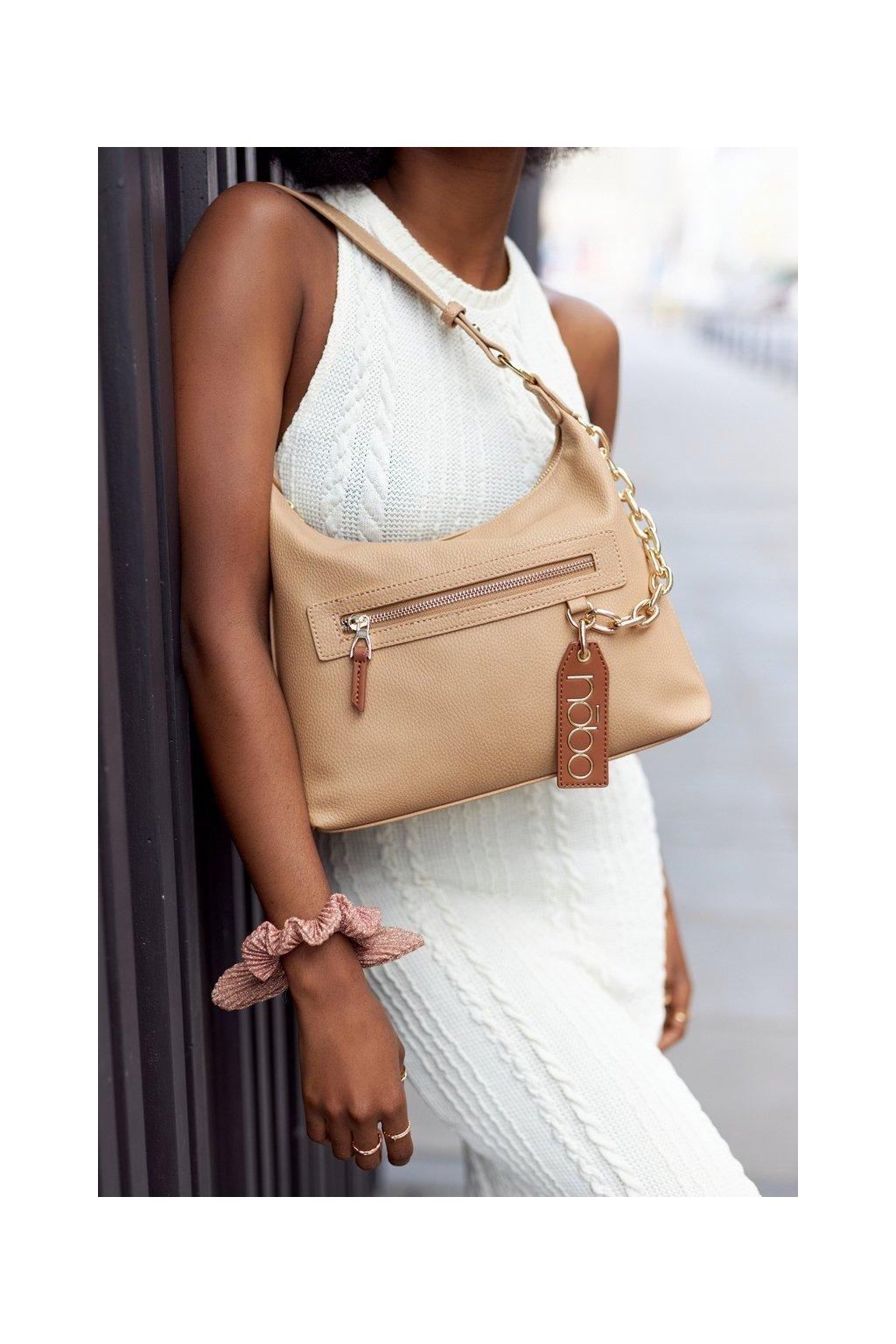 Dámska kabelka hnedá kód kabelky NBAG-K1820-C015 BEIGE