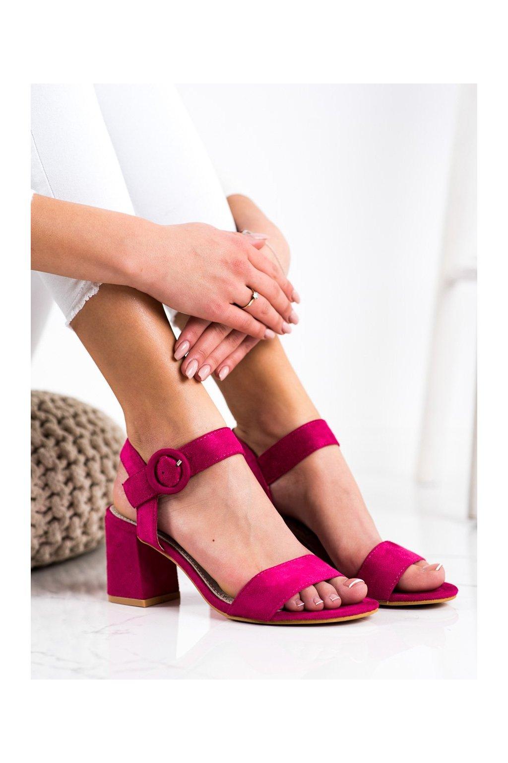 Ružové sandále Sabatina kod DM19-14PU