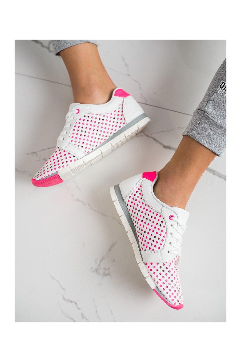 Ružové tenisky Kylie kod K2017001FU