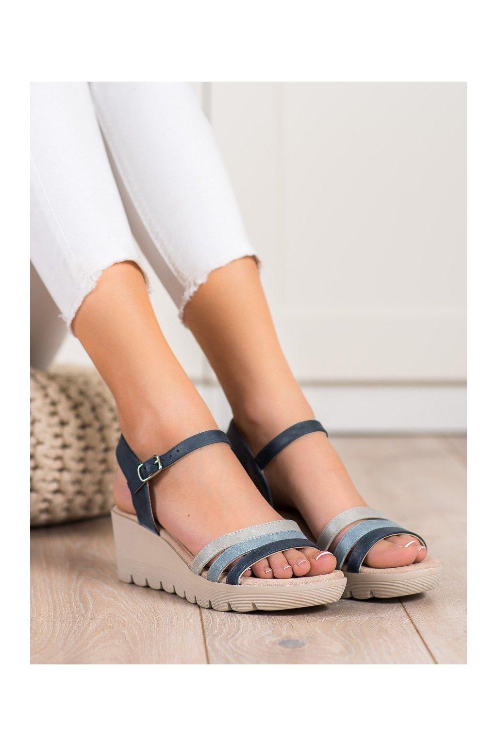 Modré sandále Kylie kod K2011302MA