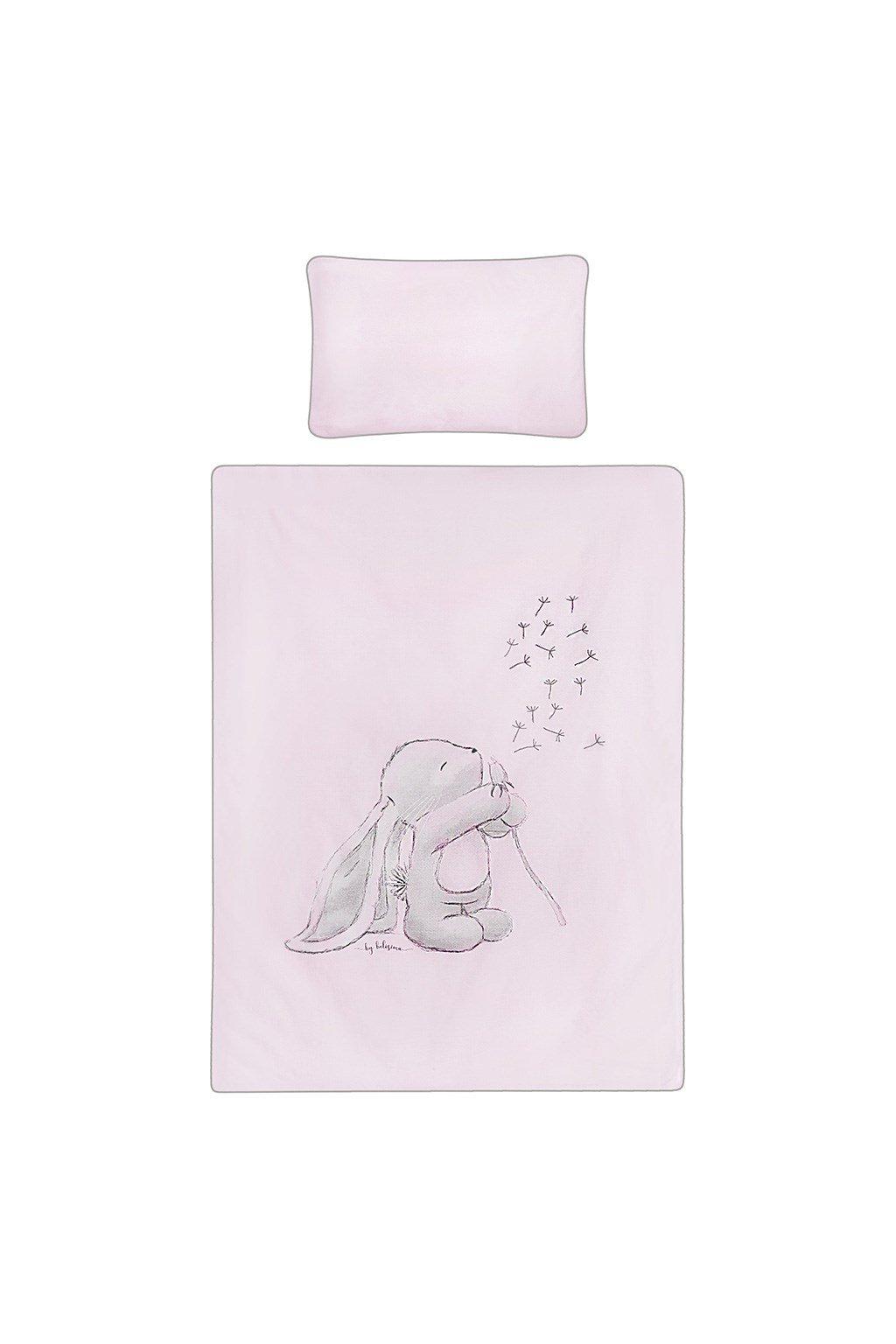 6-dielne posteľné obliečky Belisima ANDRE 90/120 ružové