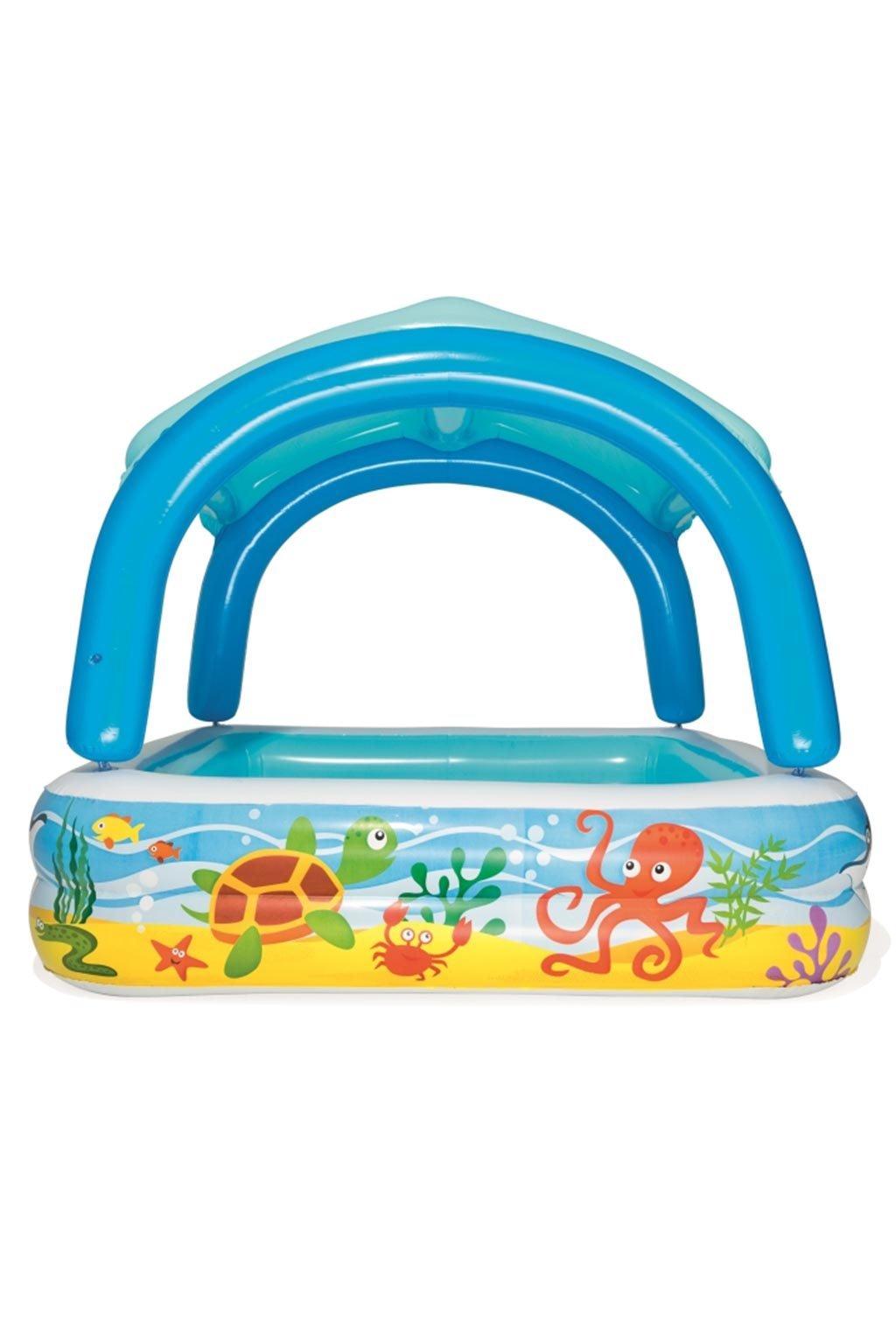 Detský nafukovací bazén so strieškou Bestway more