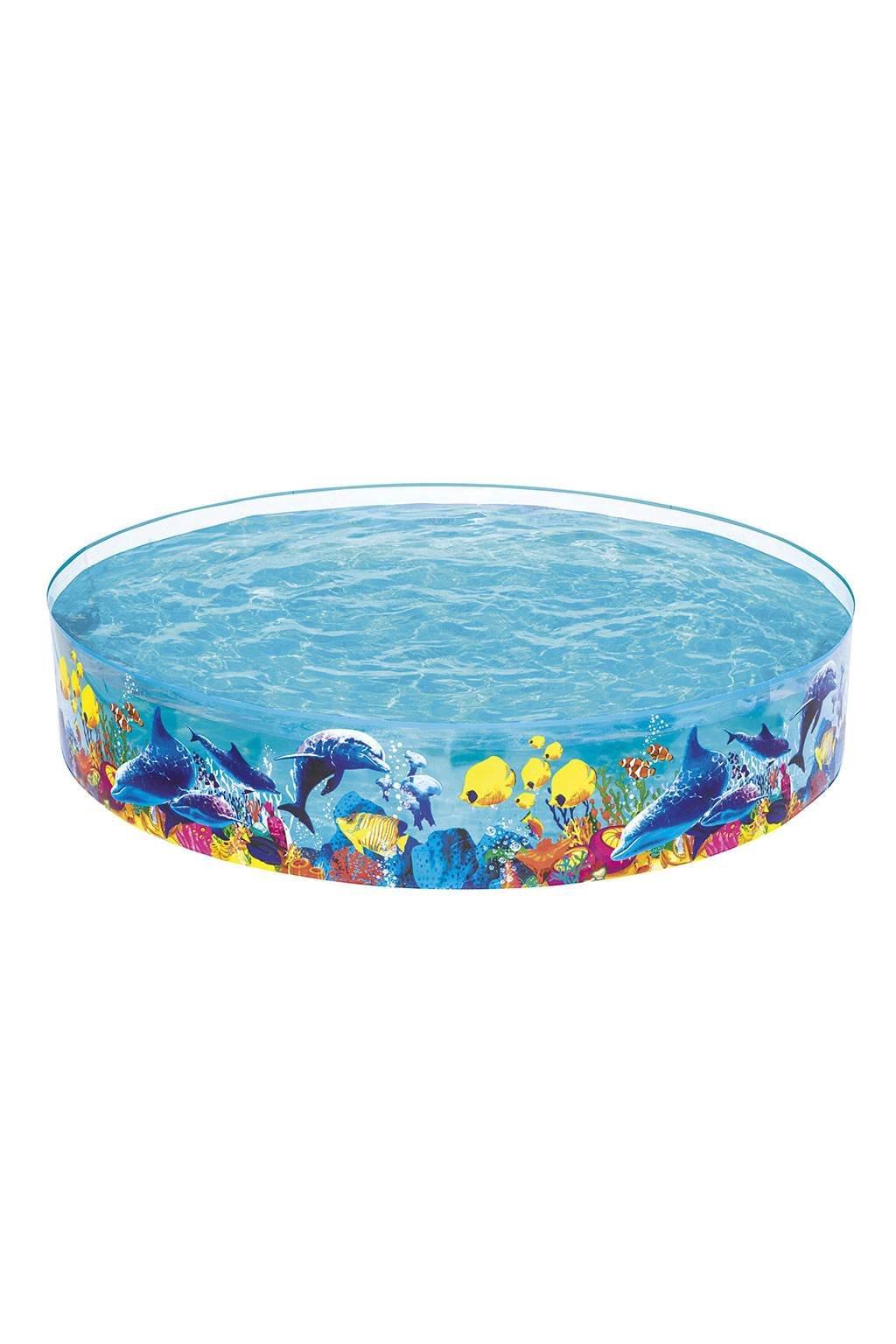 Detský bazén s pevnou stenou Bestway Sea