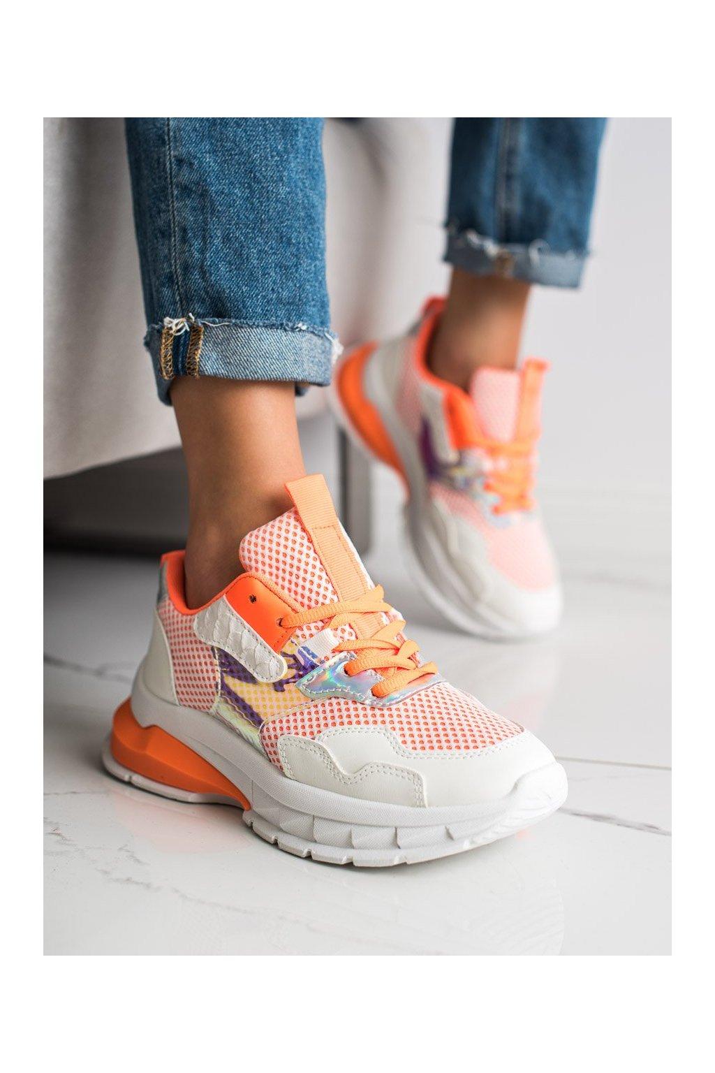 Oranžové tenisky Shelovet kod BH003OR