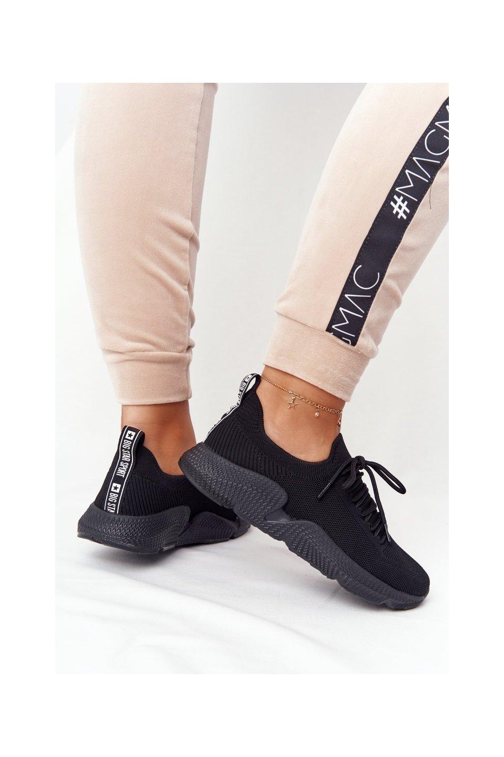 Dámske tenisky farba čierna kód obuvi DD274579 BLACK