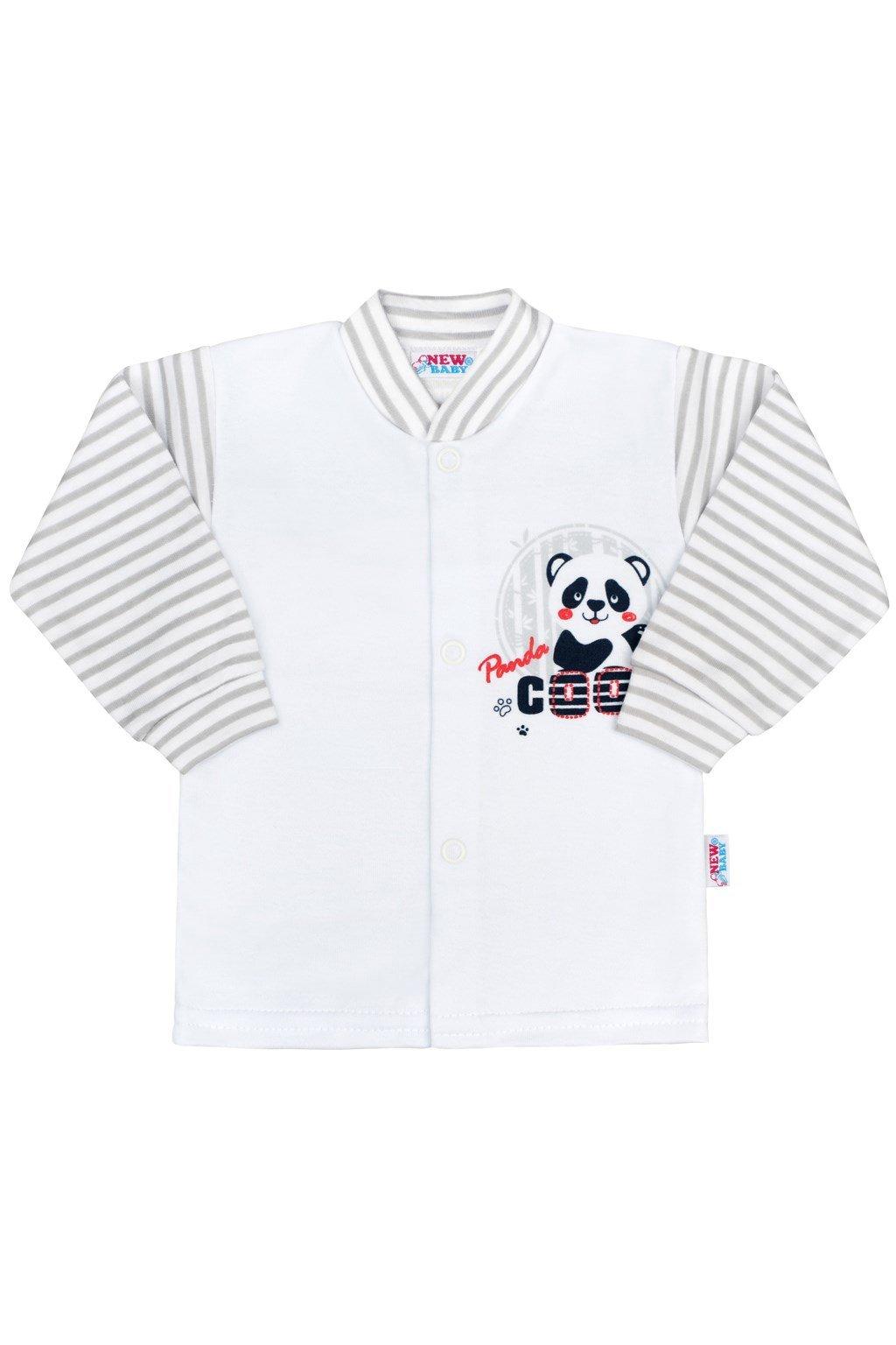 Dojčenský kabátik New Baby Panda NJSK 35699