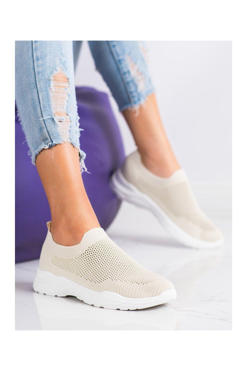 Hnedé tenisky Ideal shoes kod 9865BE