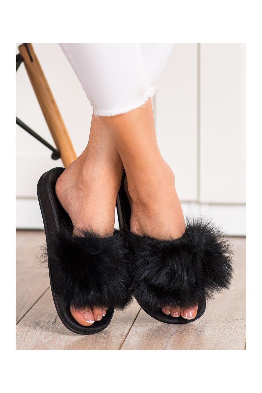 Čierne dámska obuv na doma Bona kod RS-45B