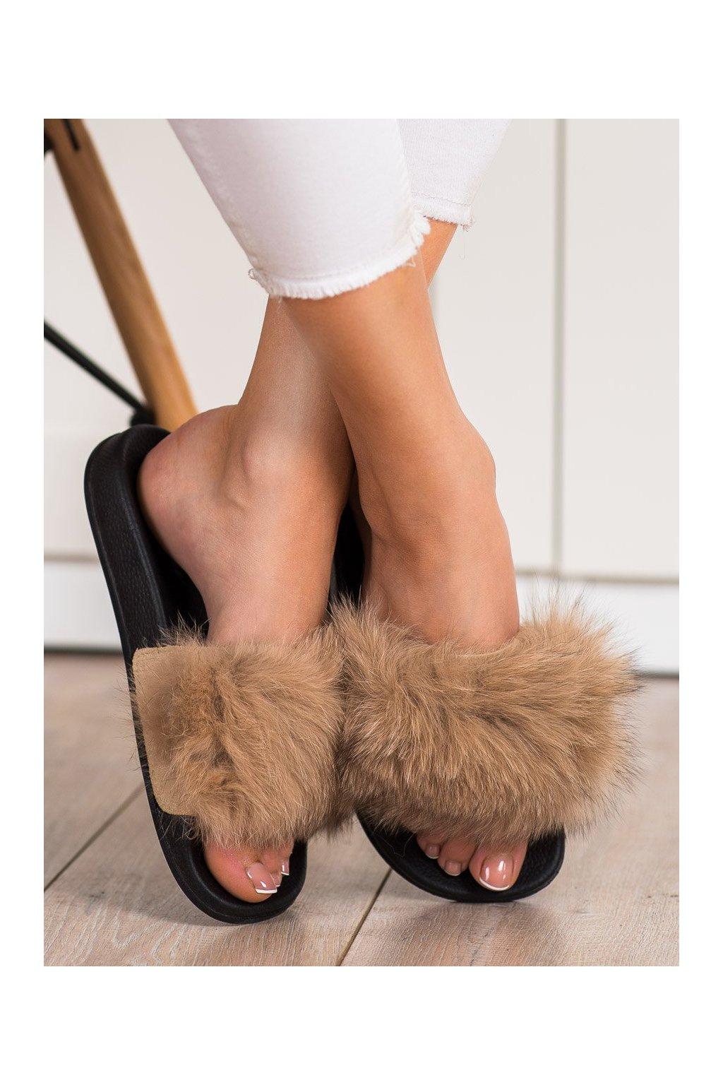 Hnedé dámska obuv na doma Bona kod RS-45BE