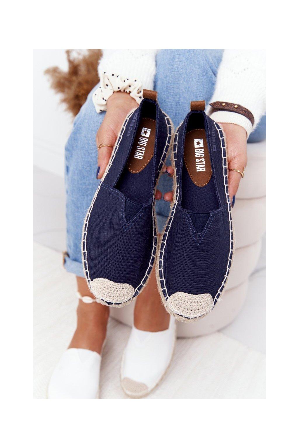 Dámske tenisky farba modrá kód obuvi HH274500 NAVY