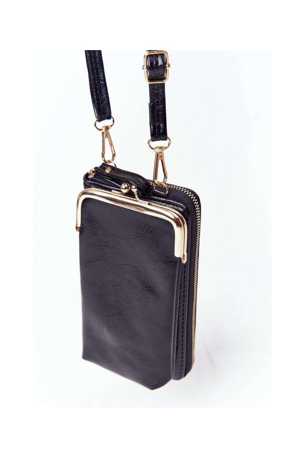 Dámska kabelka čierna kód kabelky AM-140 BLACK