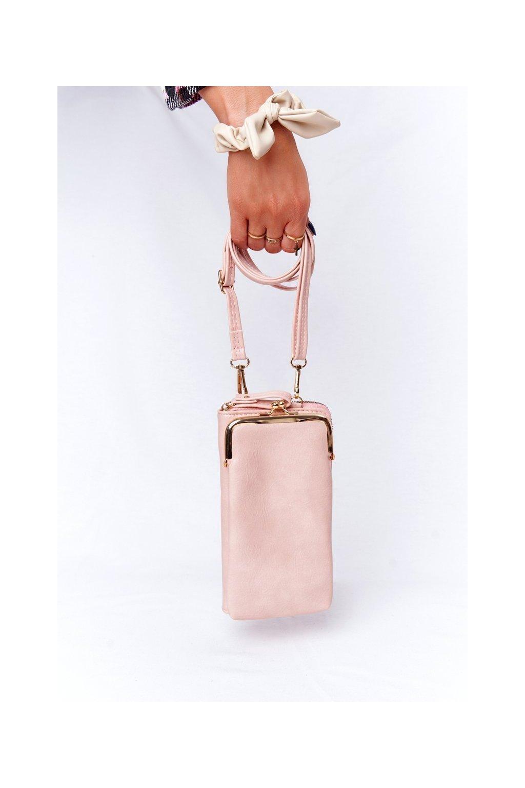 Dámska kabelka ružová kód kabelky AM-140 PINK