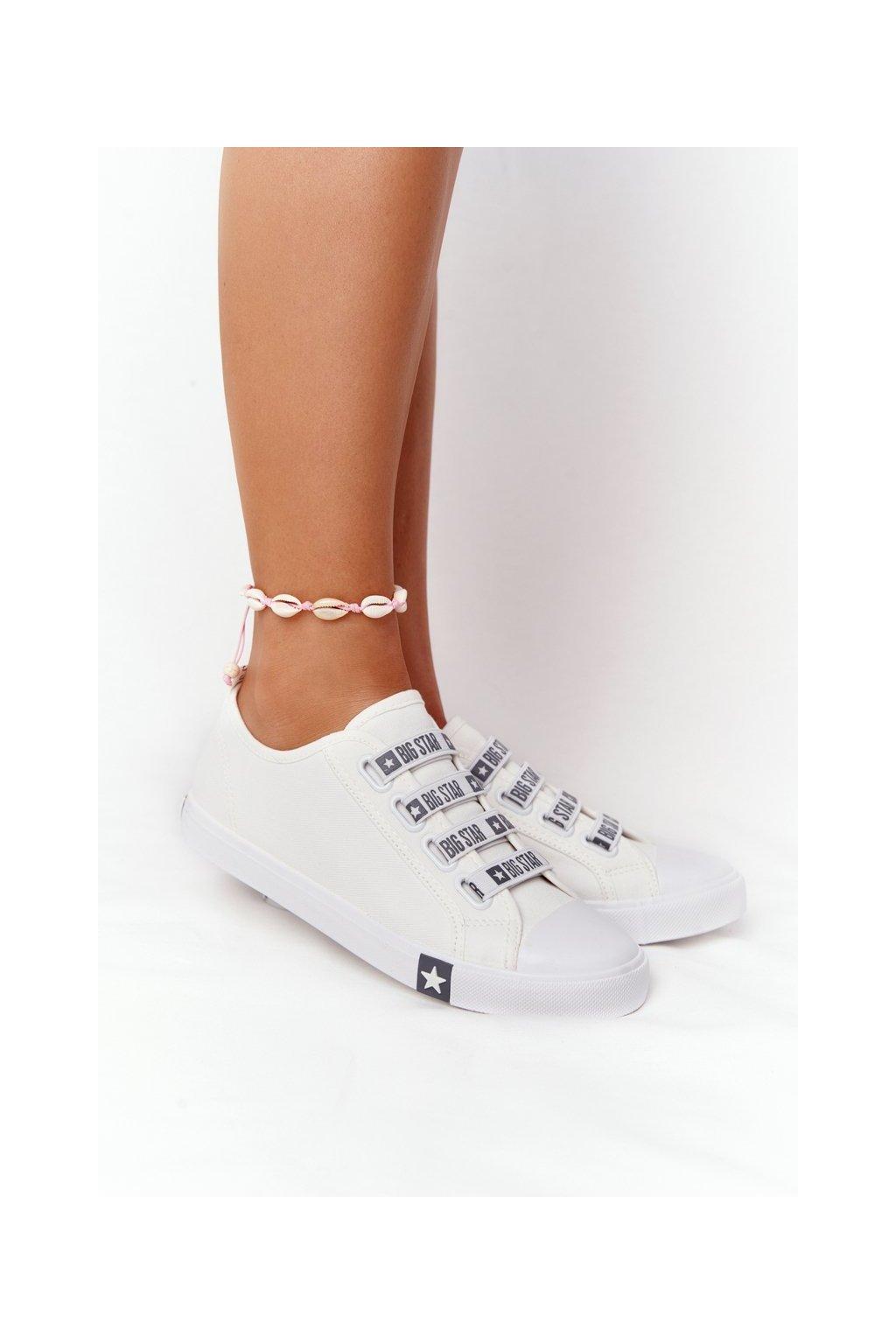Dámske tenisky farba biela kód obuvi HH274094 WHITE