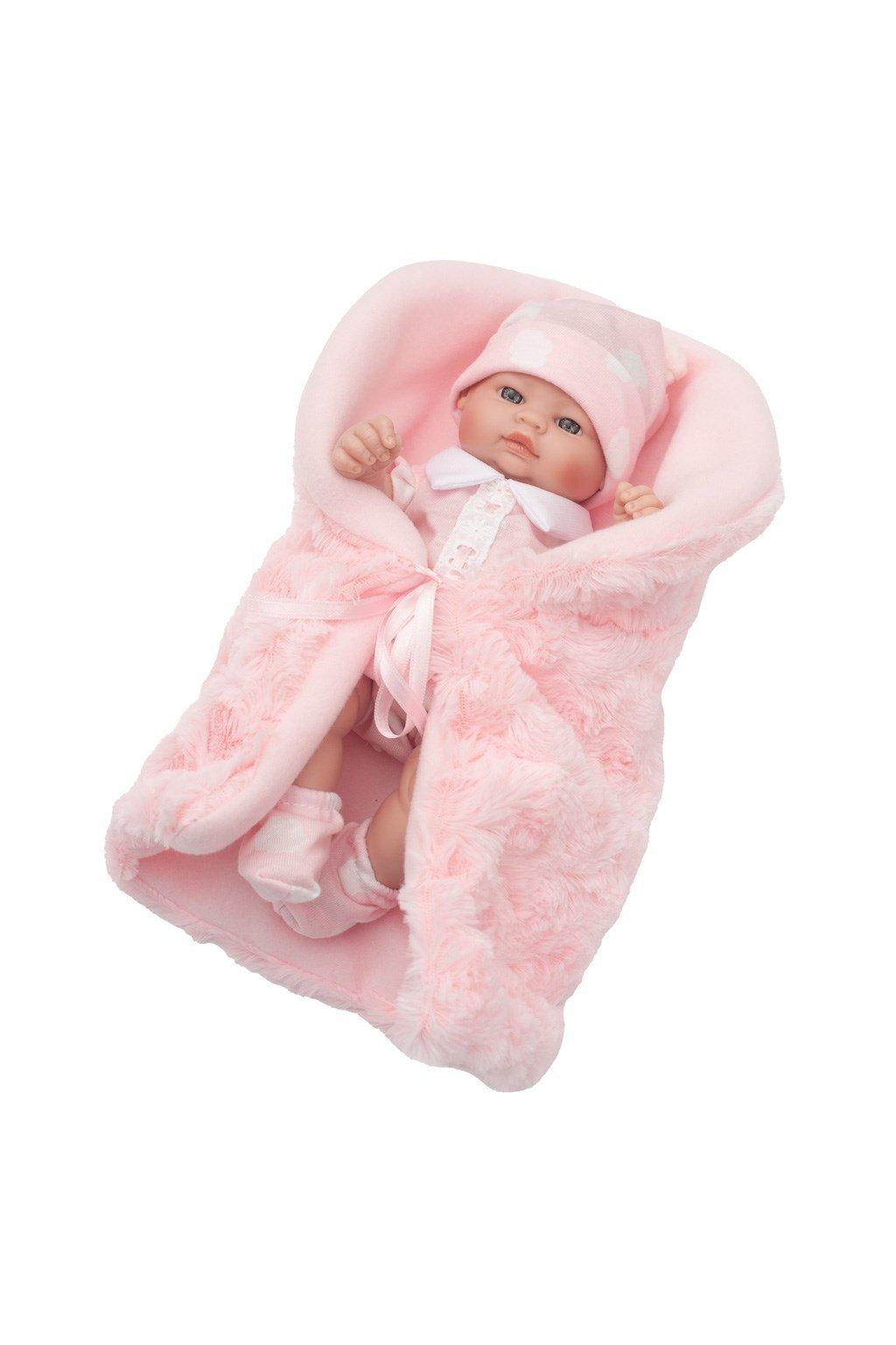 Luxusná detská bábika-bábätko Berbesa Anička 28cm