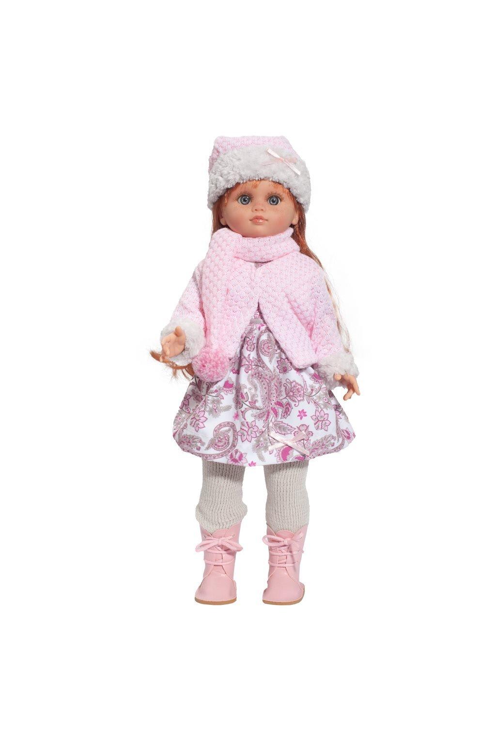Luxusná detská bábika-dievčatko Berbesa Tamara 40cm
