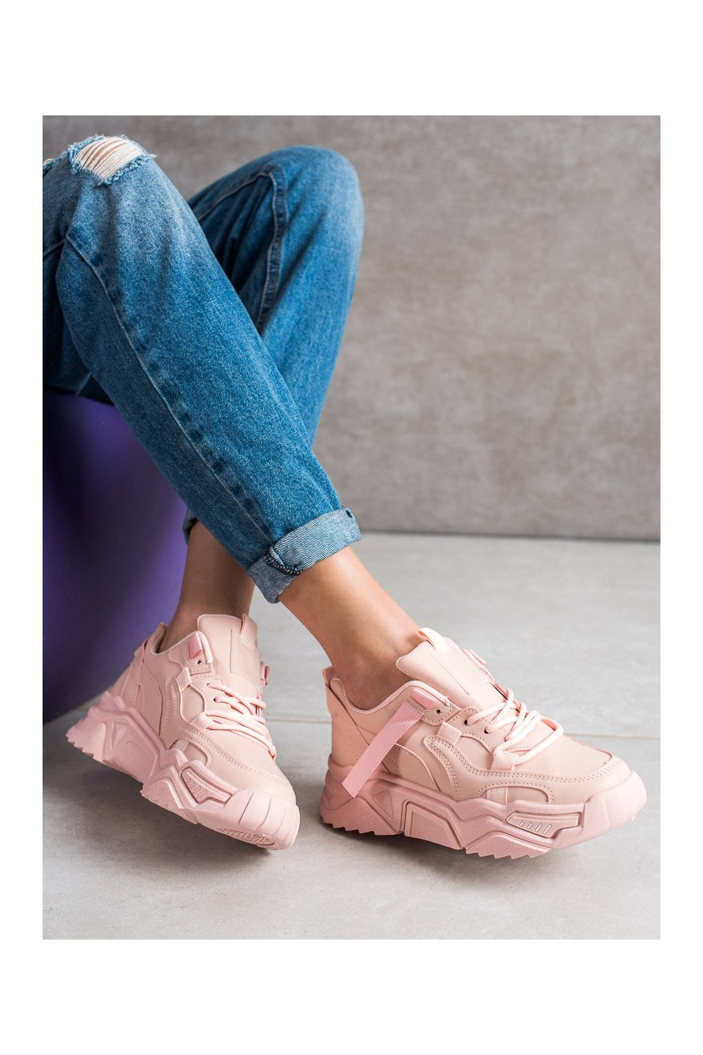 Ružové tenisky Shelovet kod DML915P