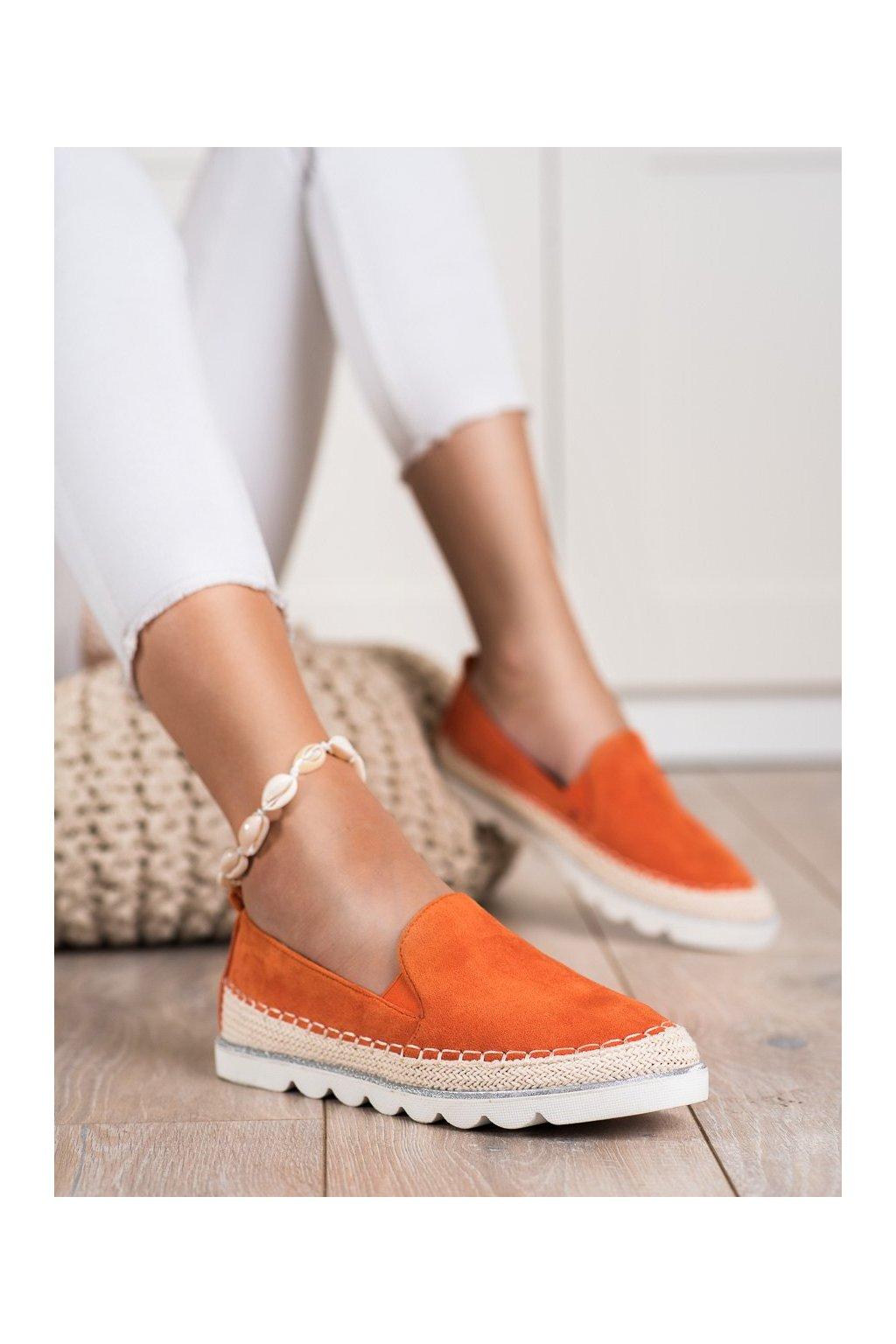 Oranžové tenisky Shelovet kod J1155OR