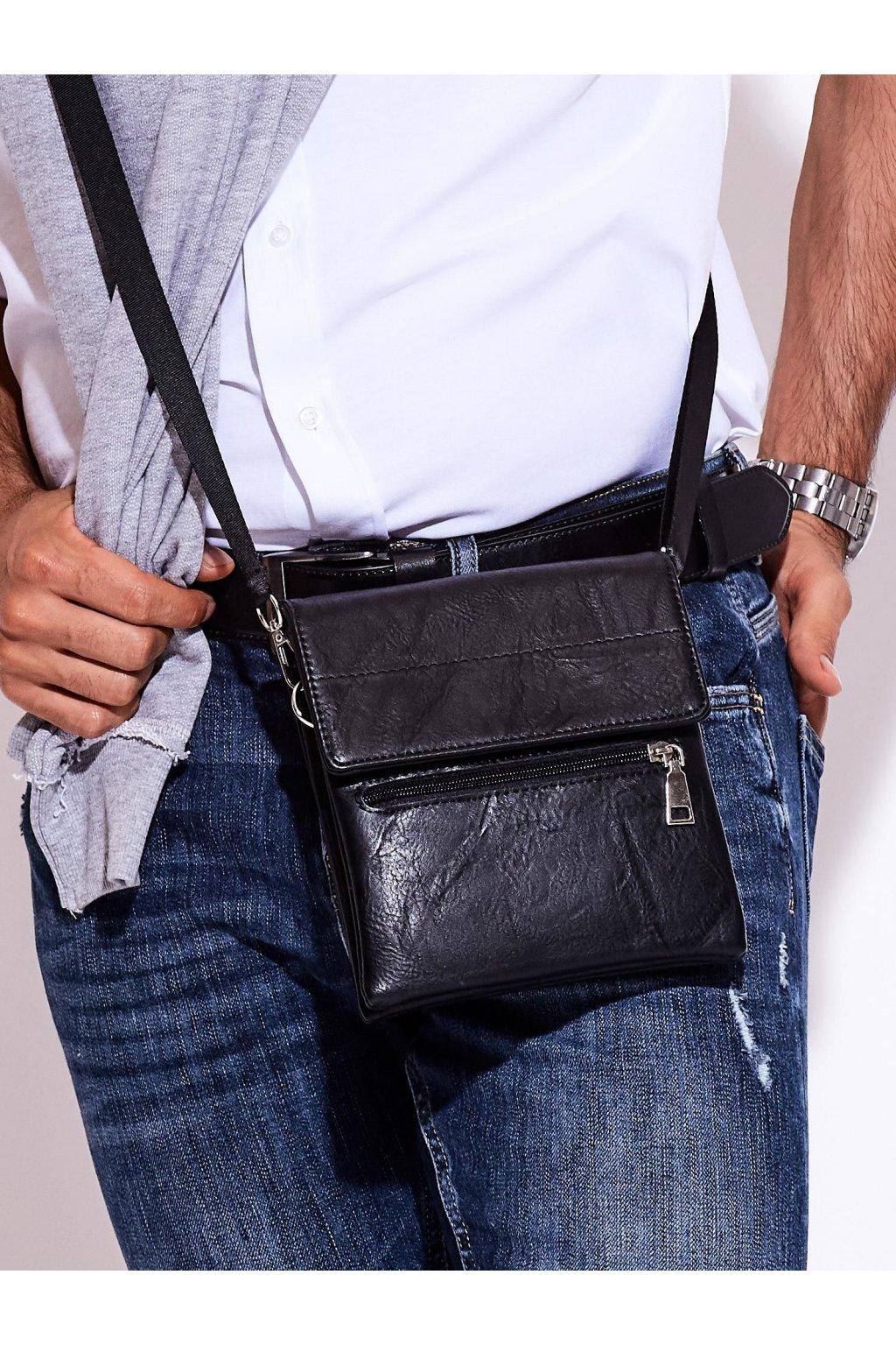 Pánska kabelka čierna kód CE-TR-SF1708.65