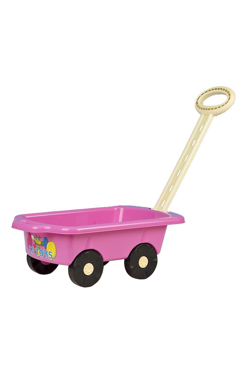 Detský vozík Vlečka BAYO 45 cm rúžový