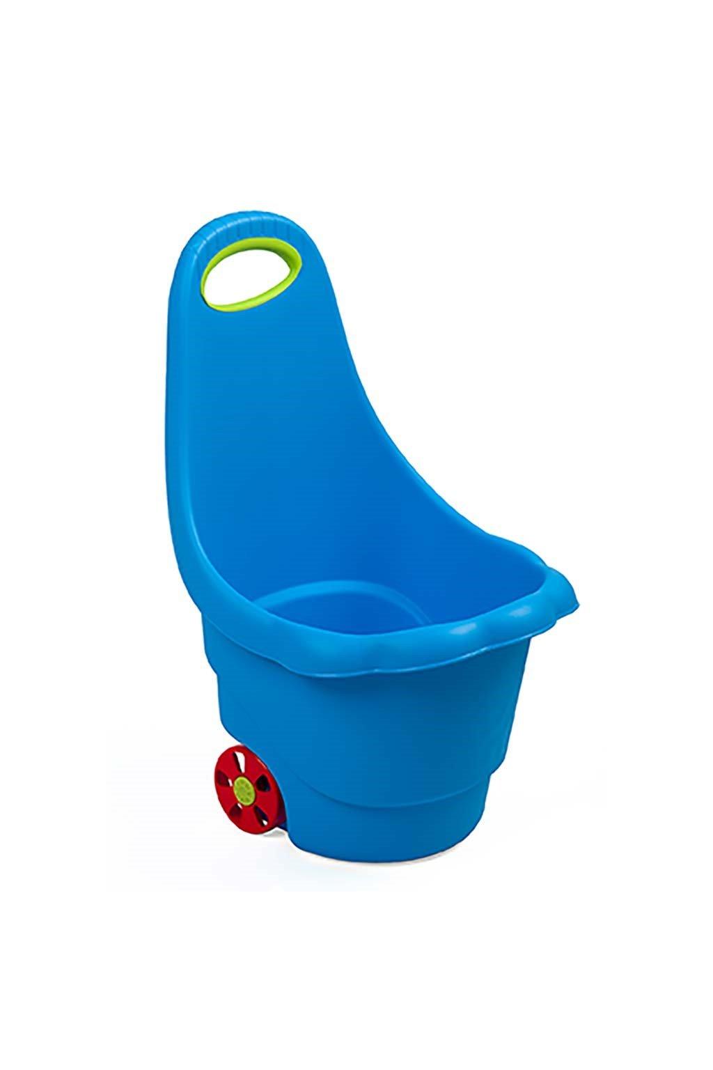 Detský multifunkčný vozík BAYO Sedmokráska 60 cm modrý