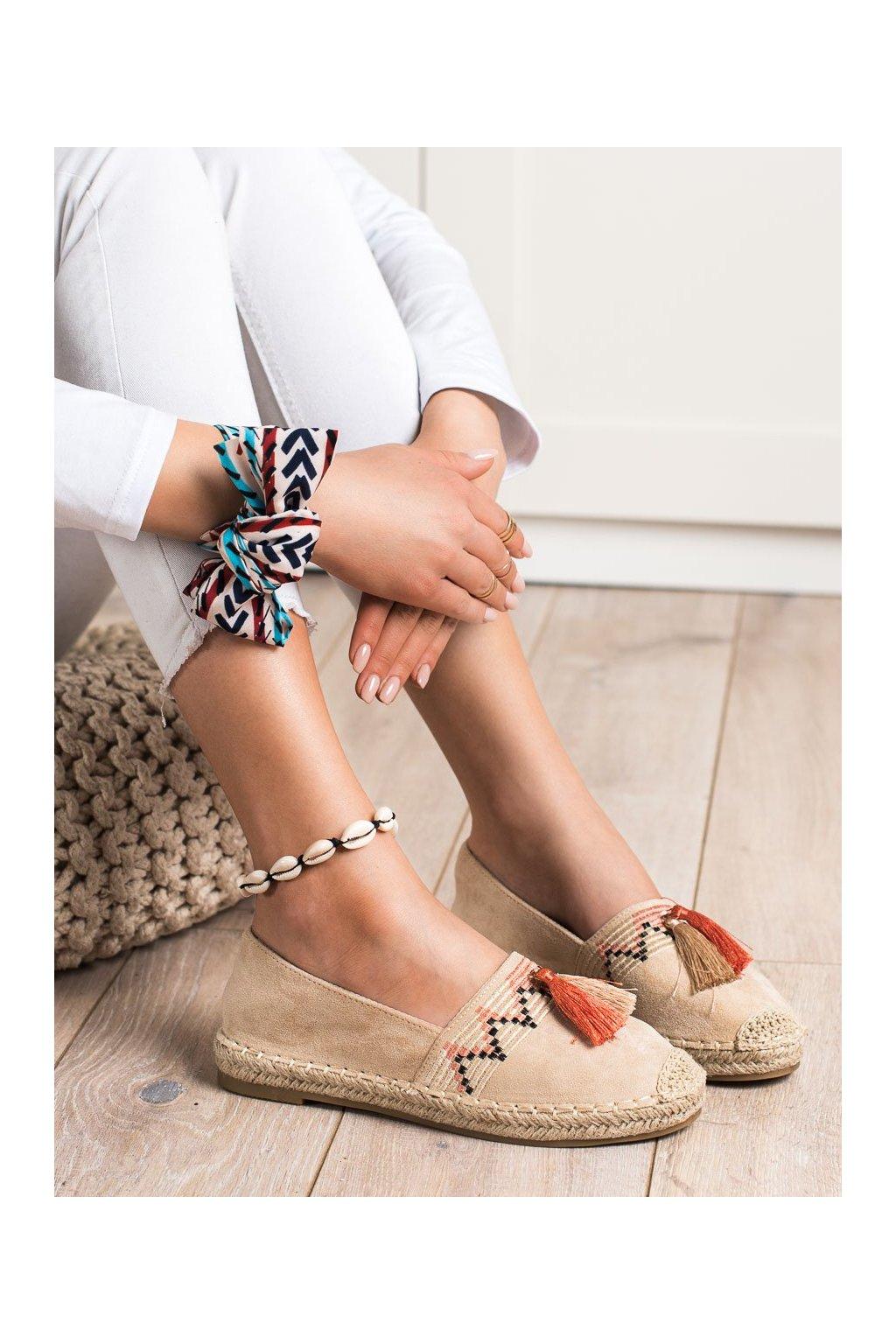 Hnedé poltopánky Best shoes kod 3R11BE