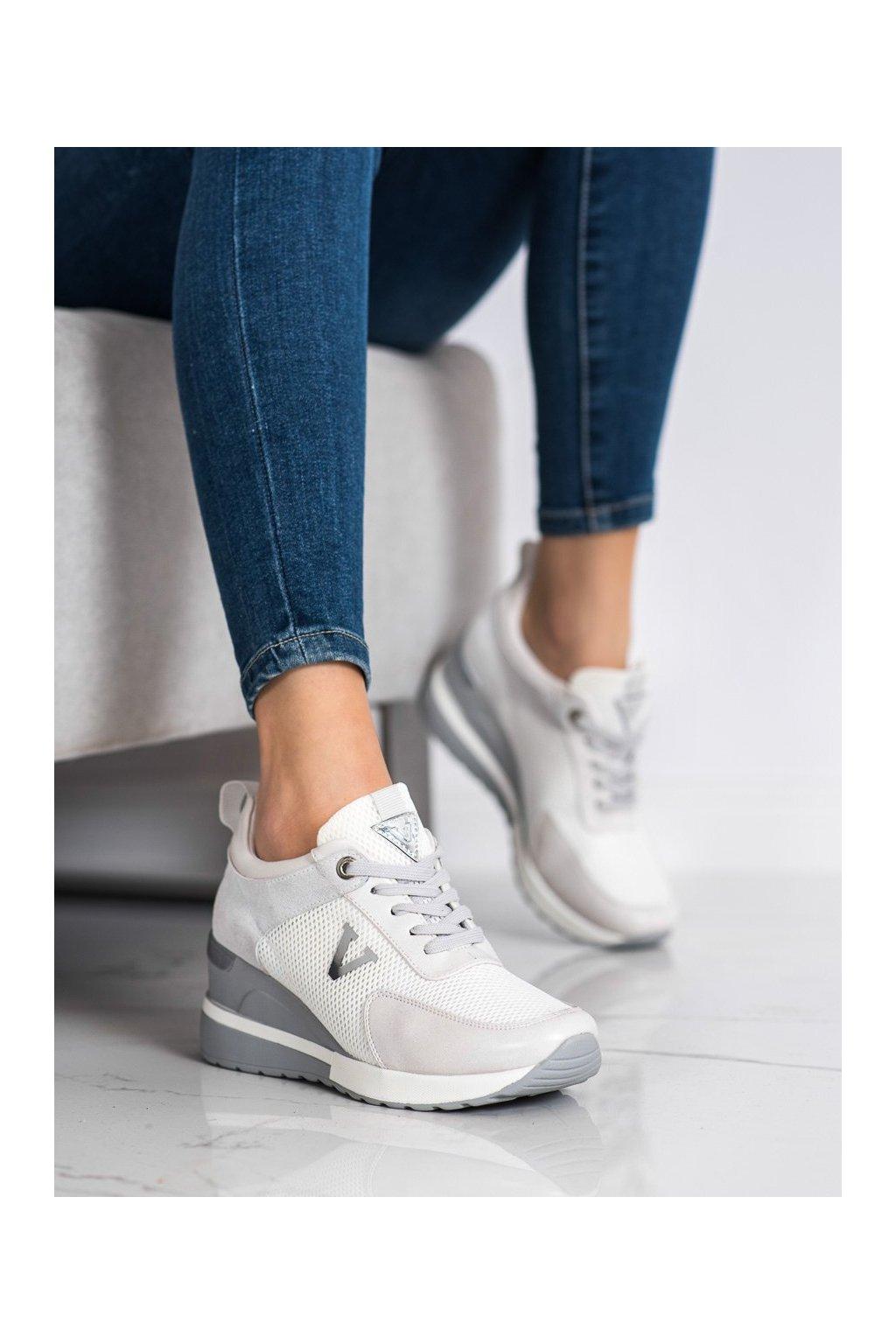 Sivé tenisky Vinceza kod XY21-10590G