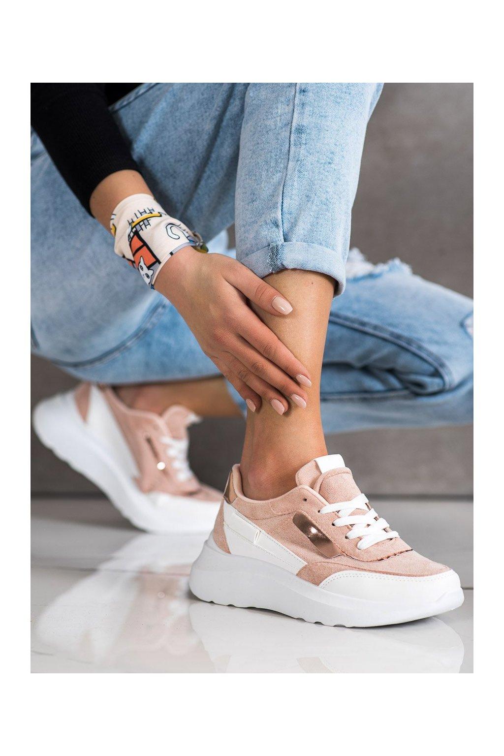 Ružové tenisky Shelovet kod LE6021P