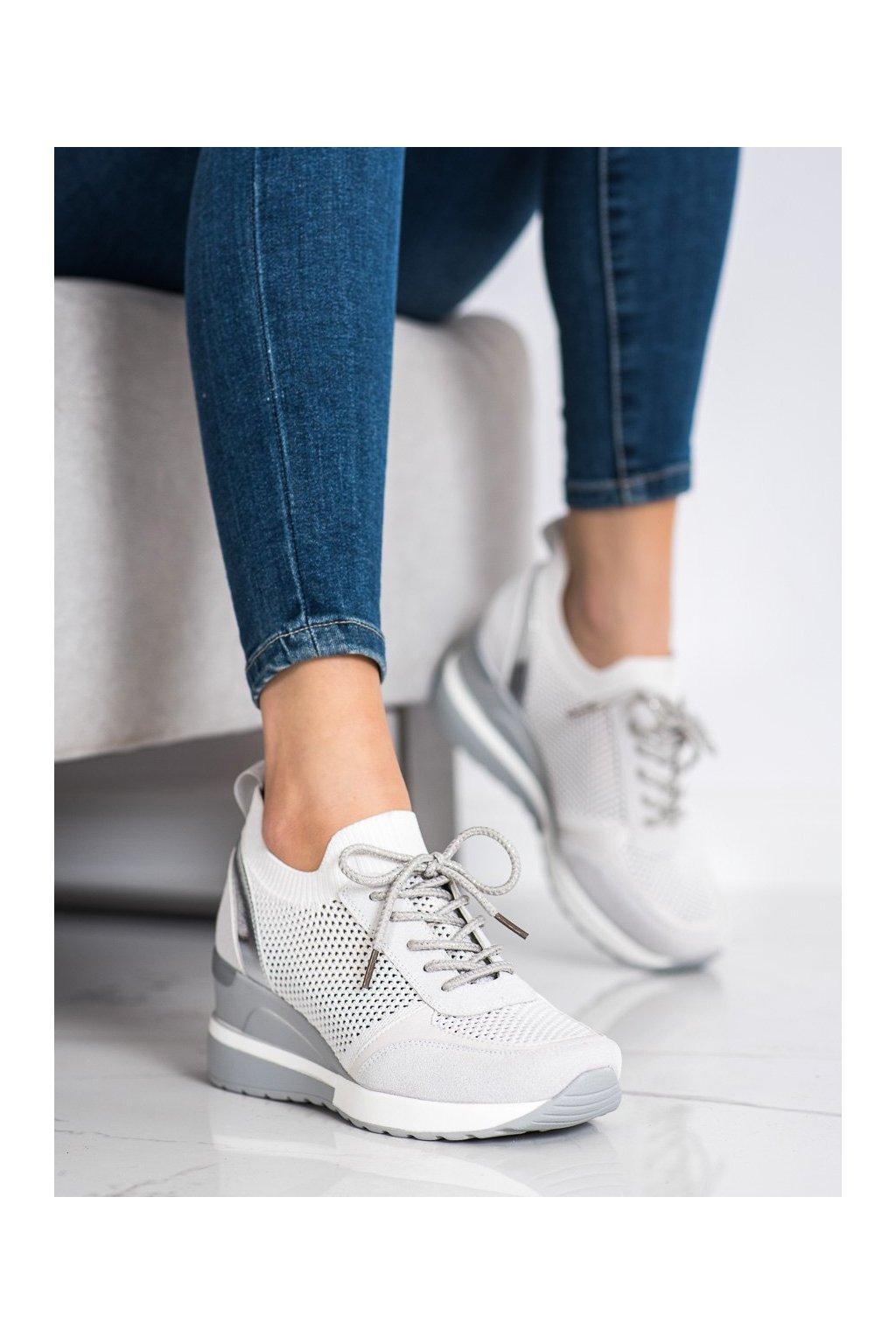 Sivé tenisky Vinceza kod XY21-10592G
