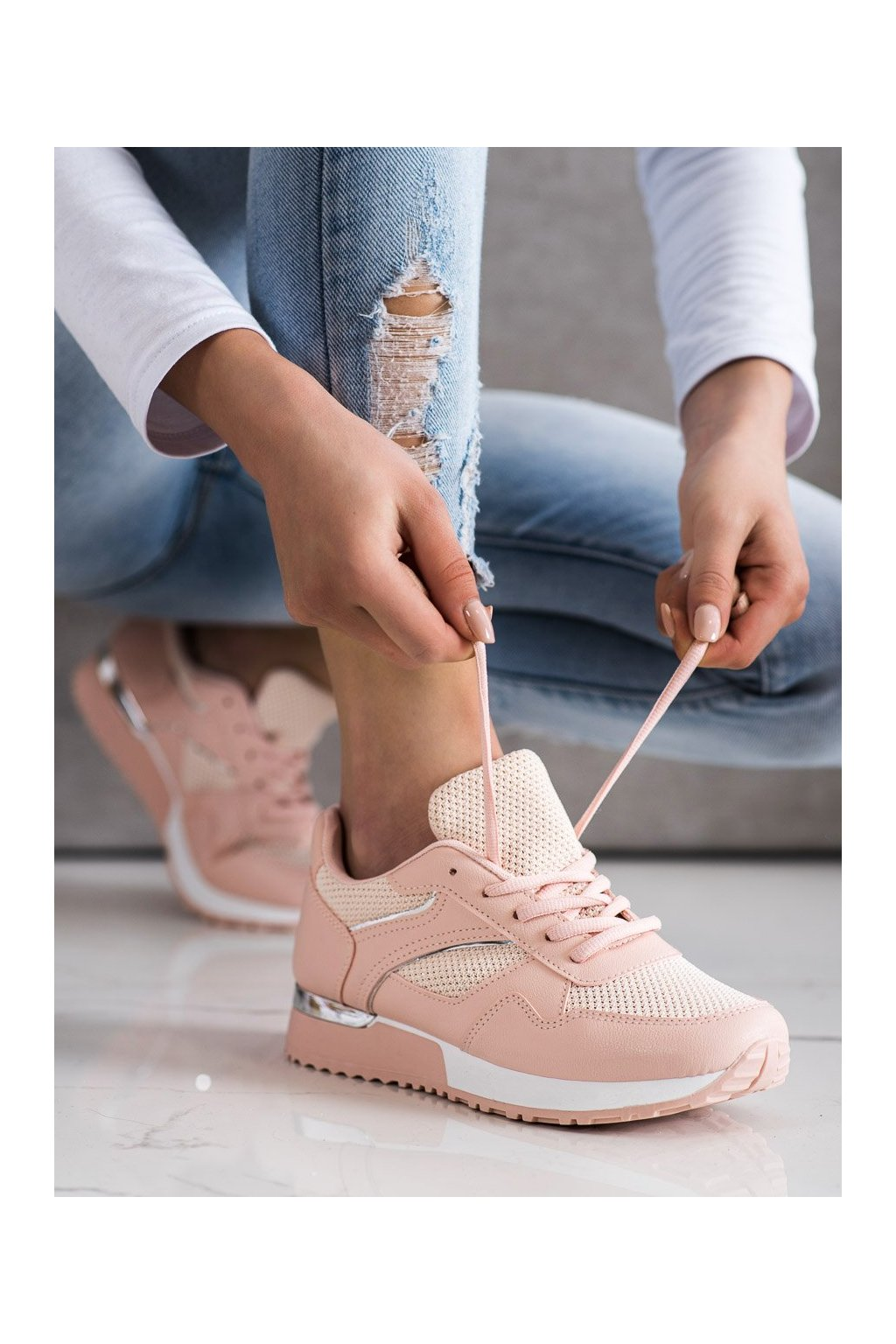 Ružové tenisky Shelovet kod LT211P