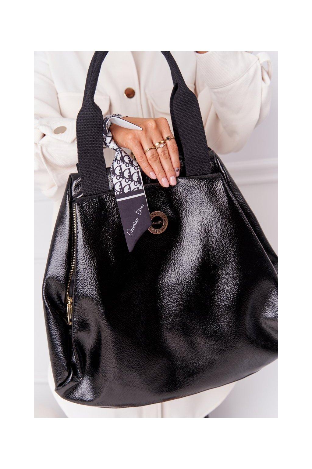 Dámska kabelka čierna kód kabelky G884 BLACK
