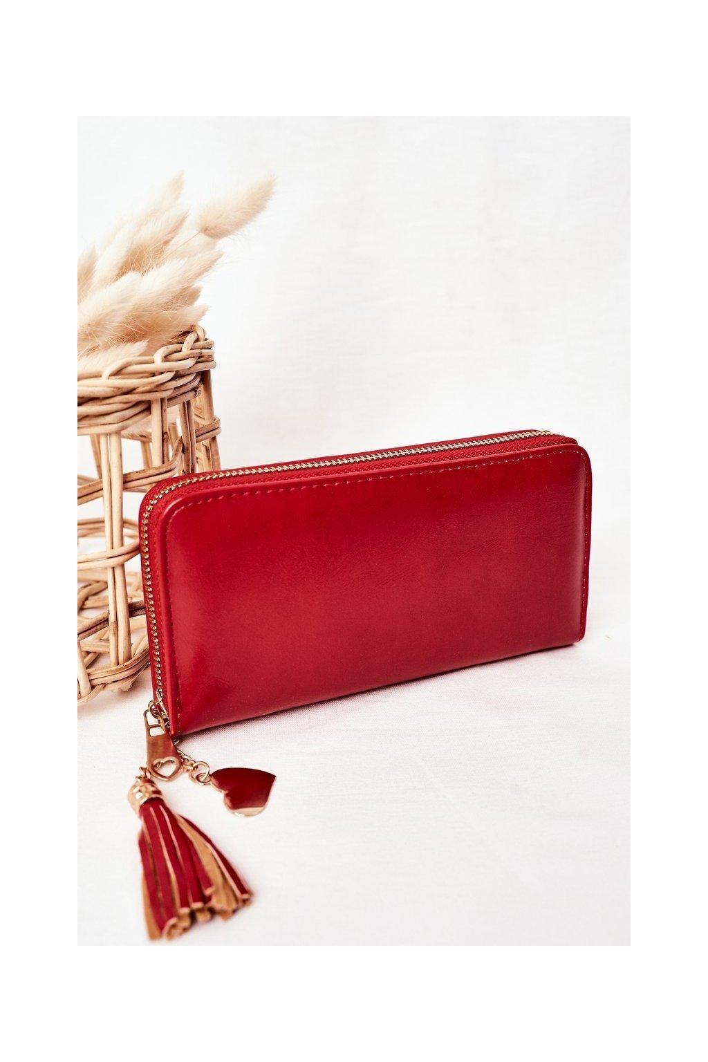 Peňaženka farba červená kód W-126 CZERWONY
