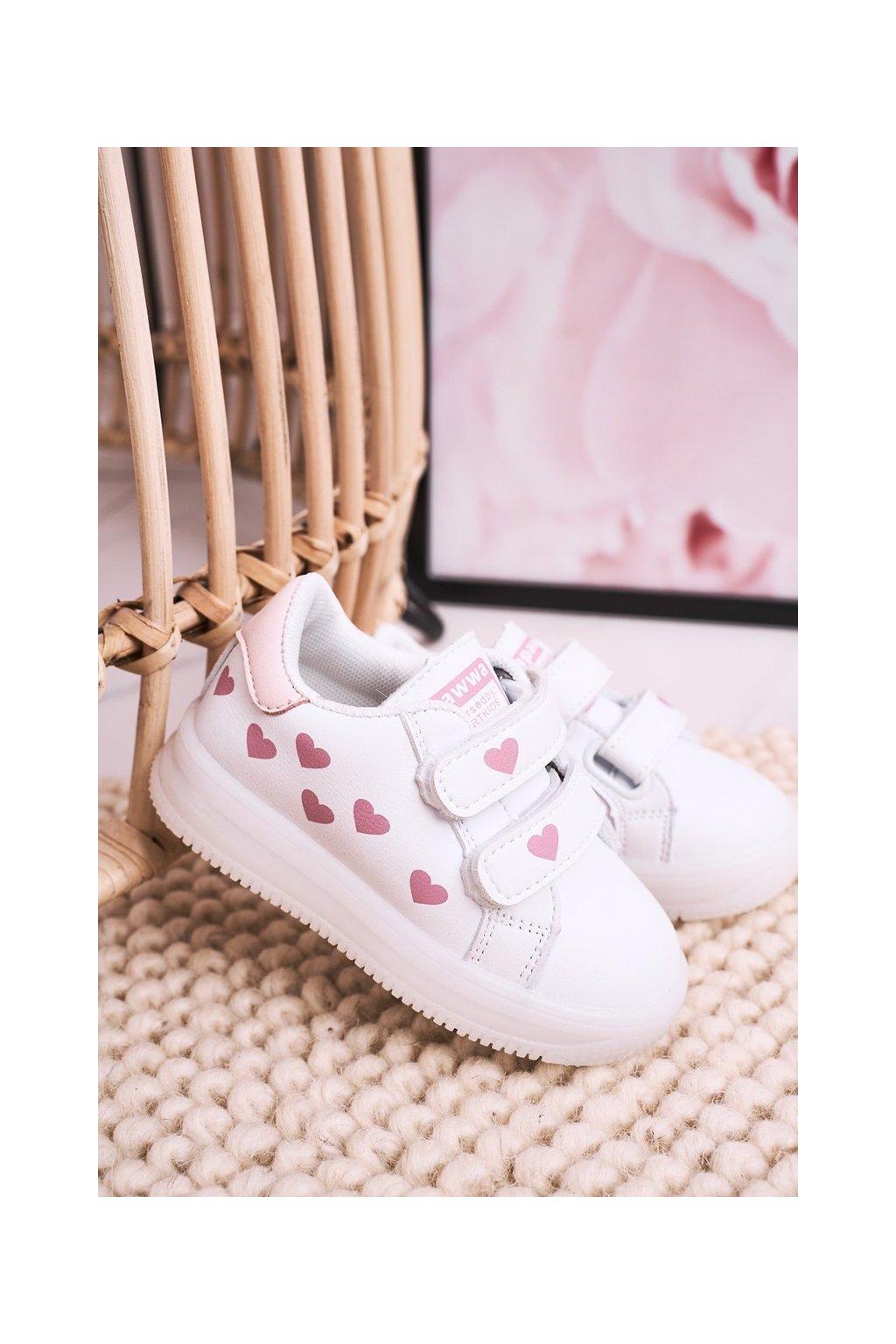 Detské ružové tenisky NJSK NC58 PINK