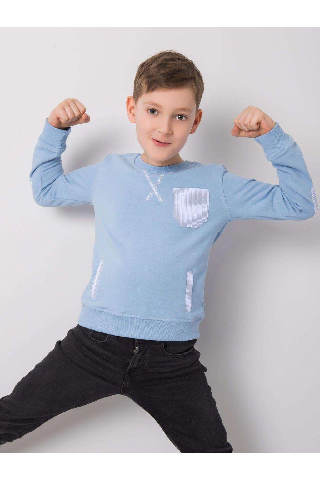 Detská chlapčenská mikina kód DK-BL-OUT04.96