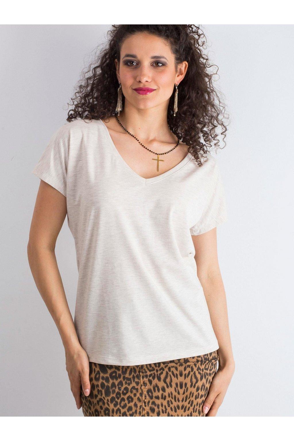 Dámske tričko jednofarebné kód RV-TS-4832.34P
