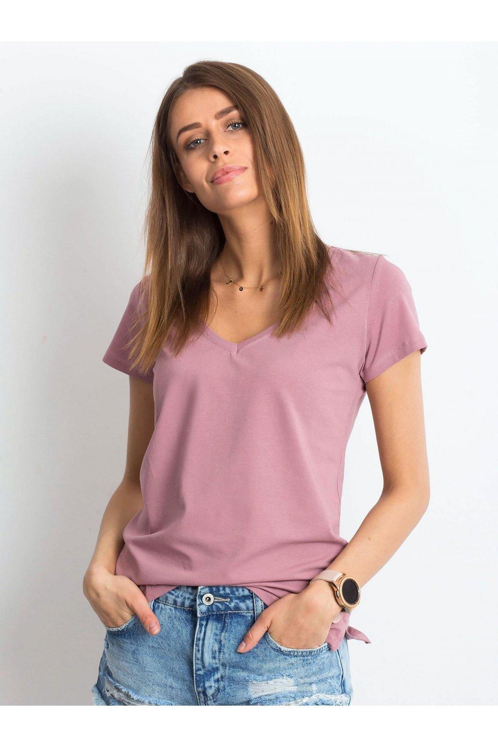Dámske tričko jednofarebné kód RV-TS-4837.28P