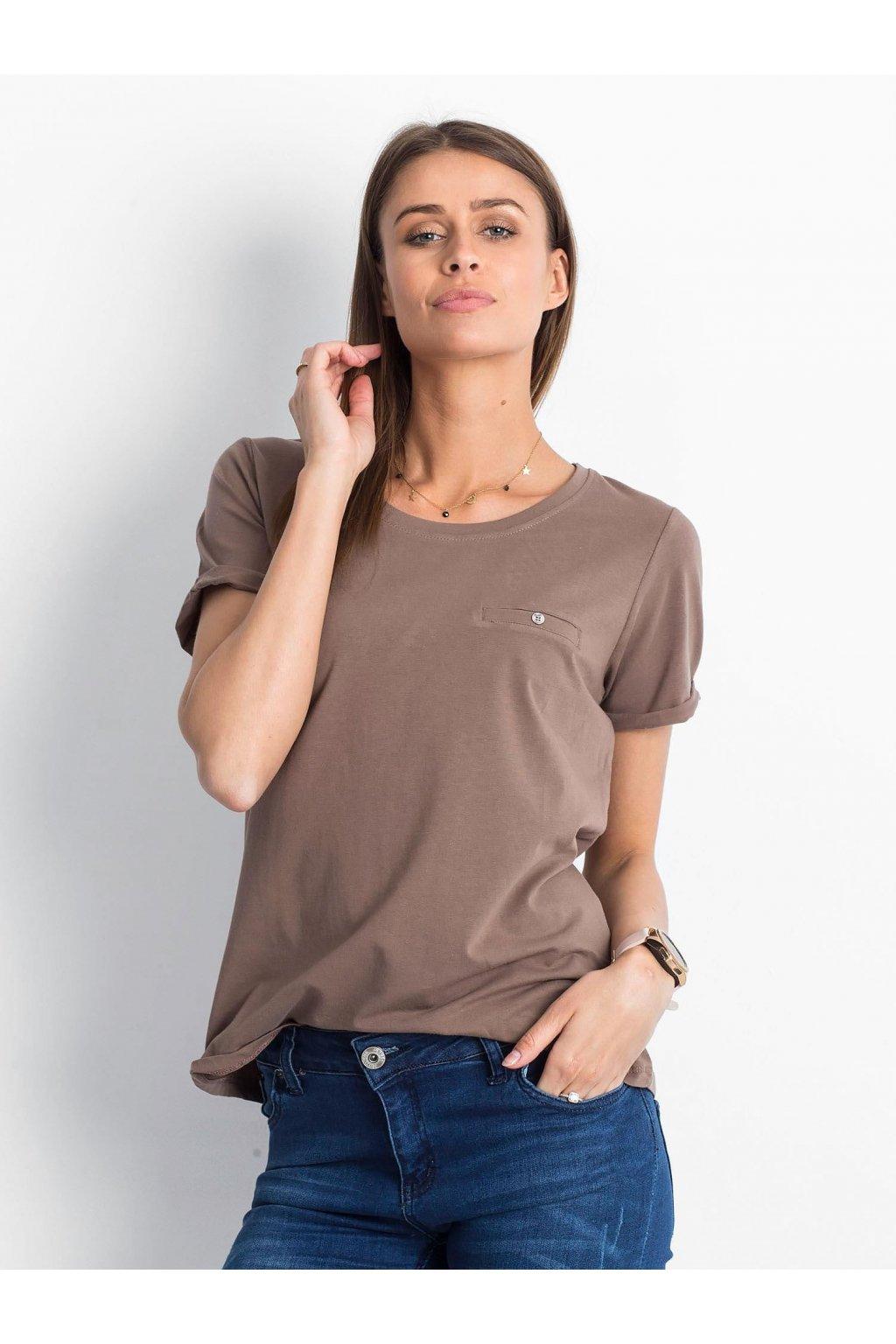 Dámske tričko jednofarebné kód RV-TS-4838.73P