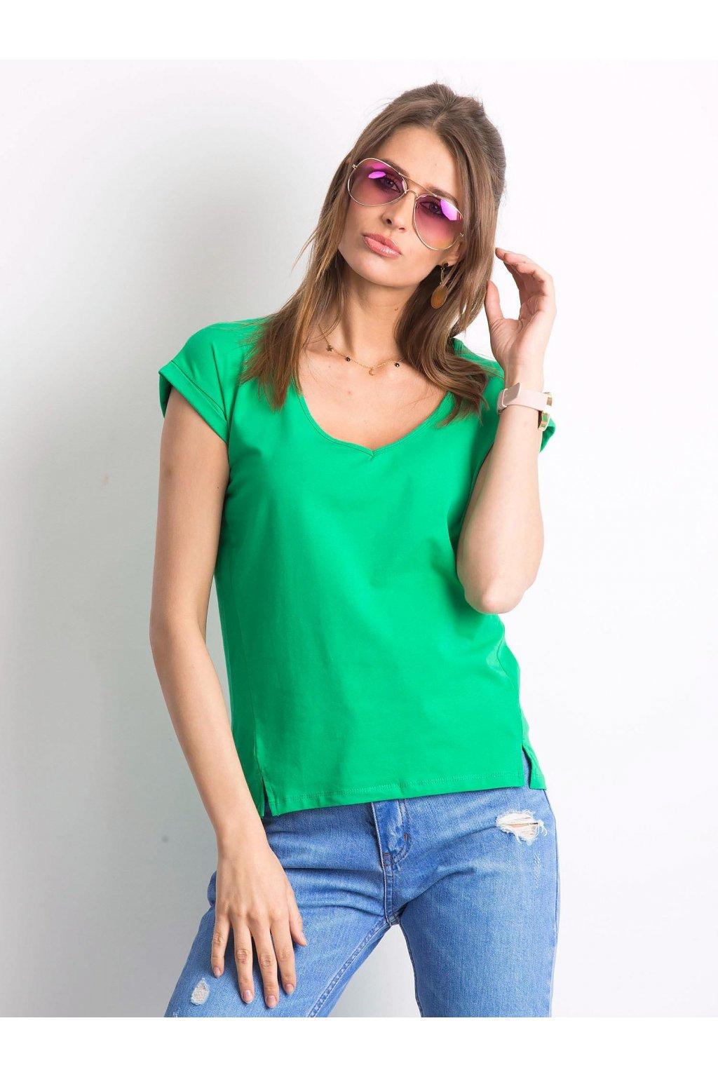 Dámske tričko jednofarebné kód RV-TS-4839.12P