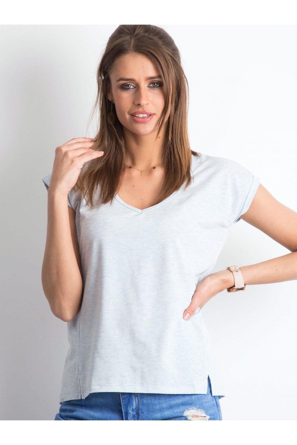 Dámske tričko jednofarebné kód RV-TS-4839.25P