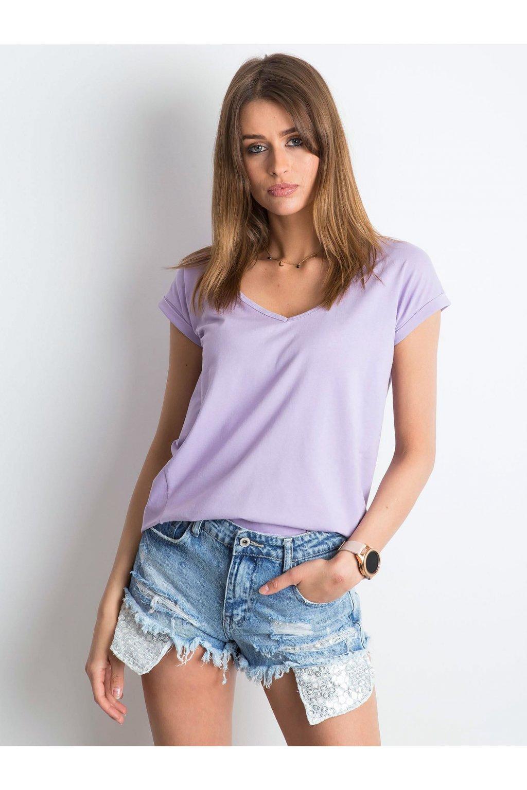 Dámske tričko jednofarebné kód RV-TS-4839.40P