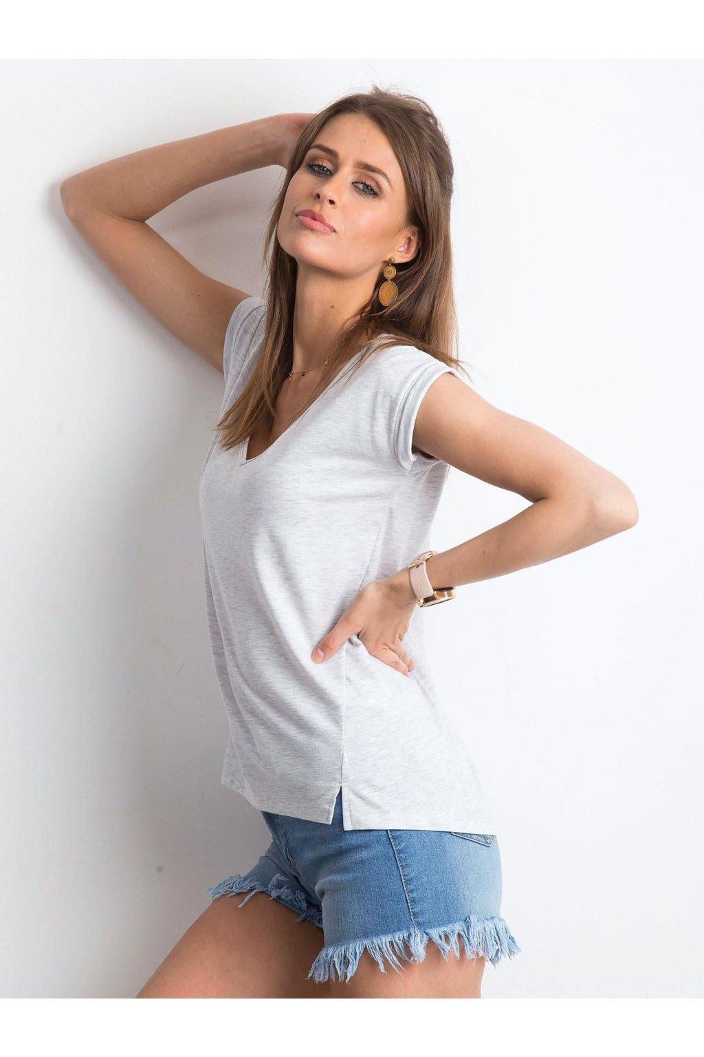 Dámske tričko jednofarebné kód RV-TS-4839.61P