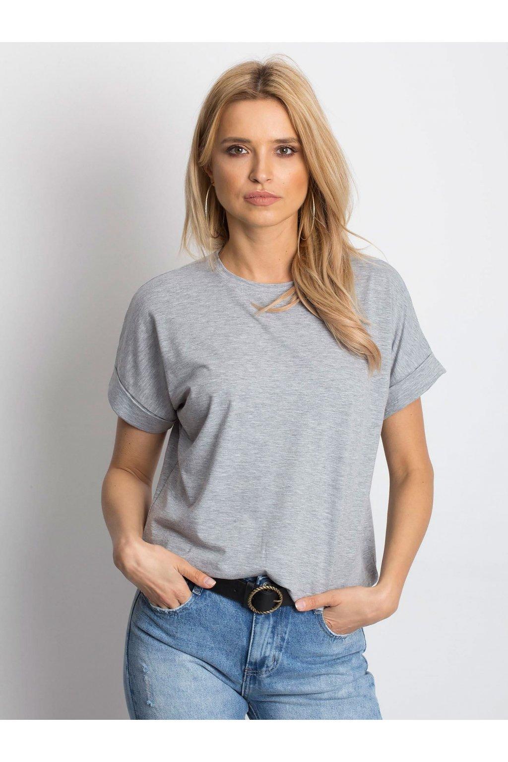 Dámske tričko jednofarebné kód RV-TS-4841.43P