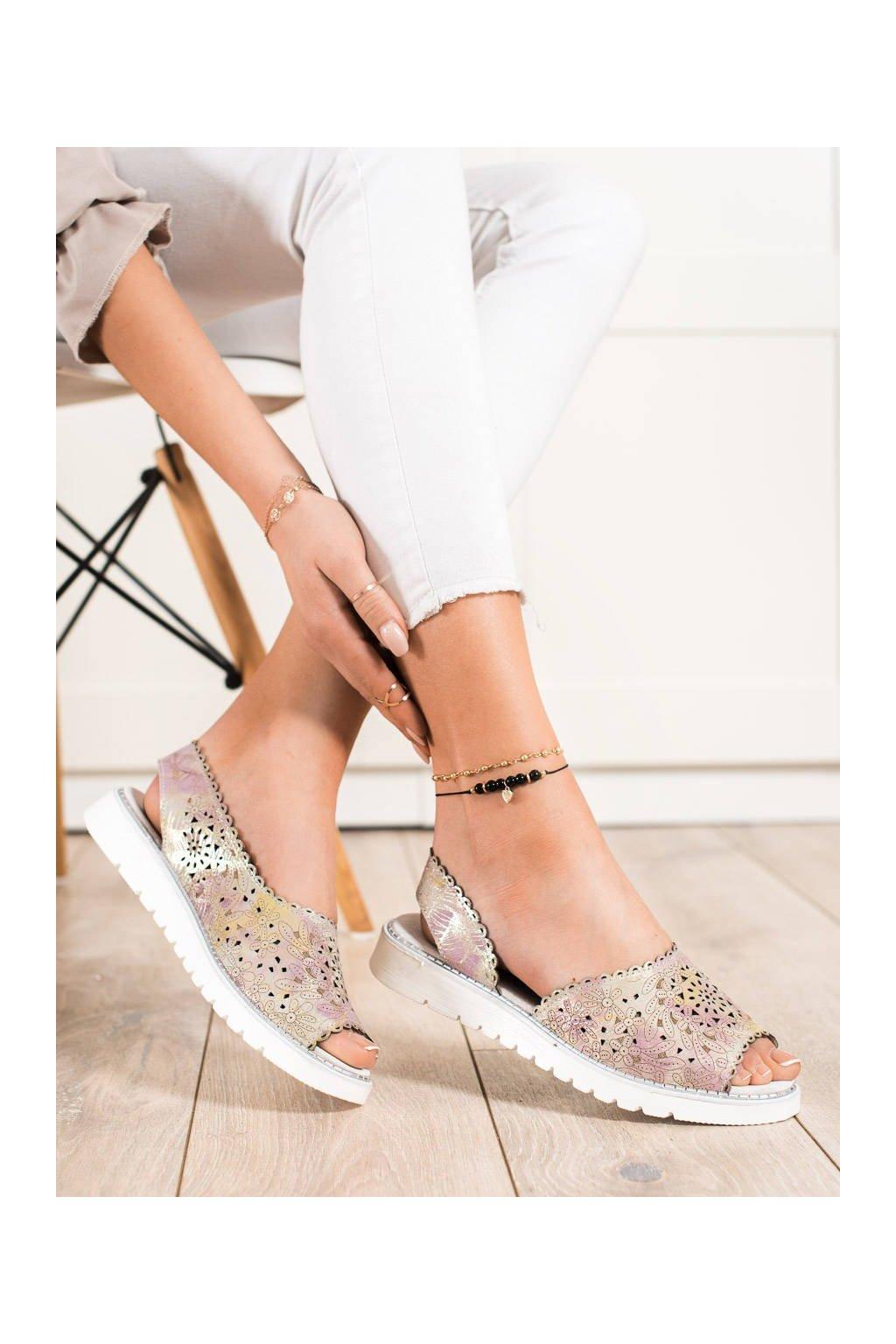 Viacfarebné sandále Shelovet kod LR83890GO
