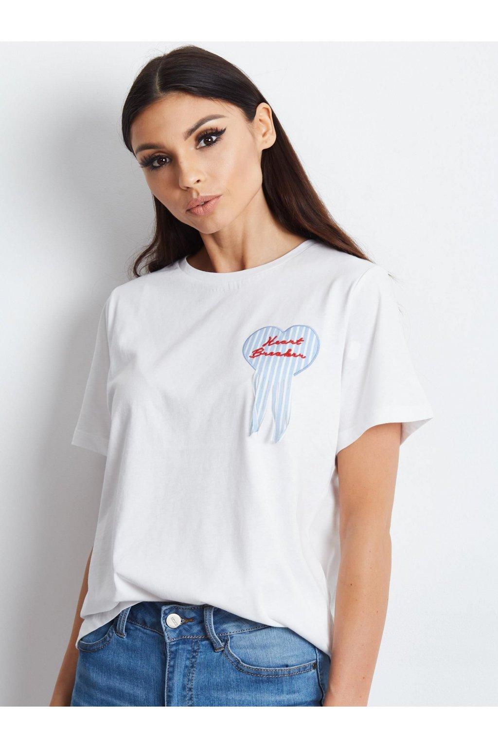 Dámske tričko s nášivkami kód YP-TS-AEX0588.19