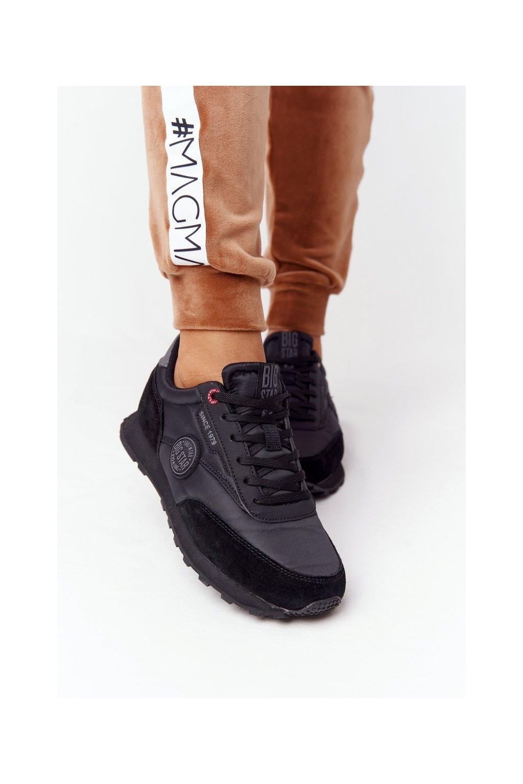 Dámske tenisky farba čierna kód obuvi HH274528 BLACK