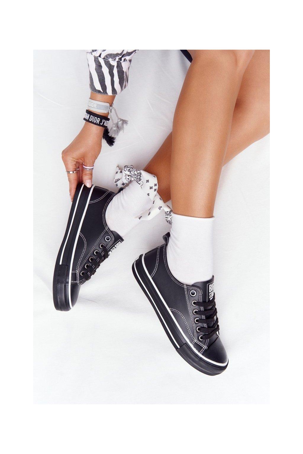 Dámske tenisky farba čierna kód obuvi HH274145 BLACK