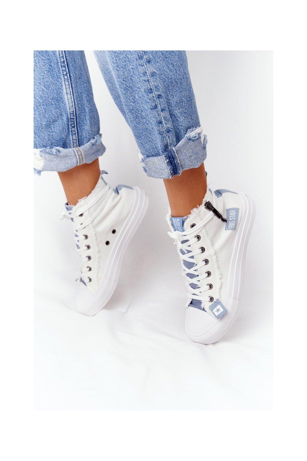 Dámske tenisky farba biela kód obuvi HH274160 WHITE