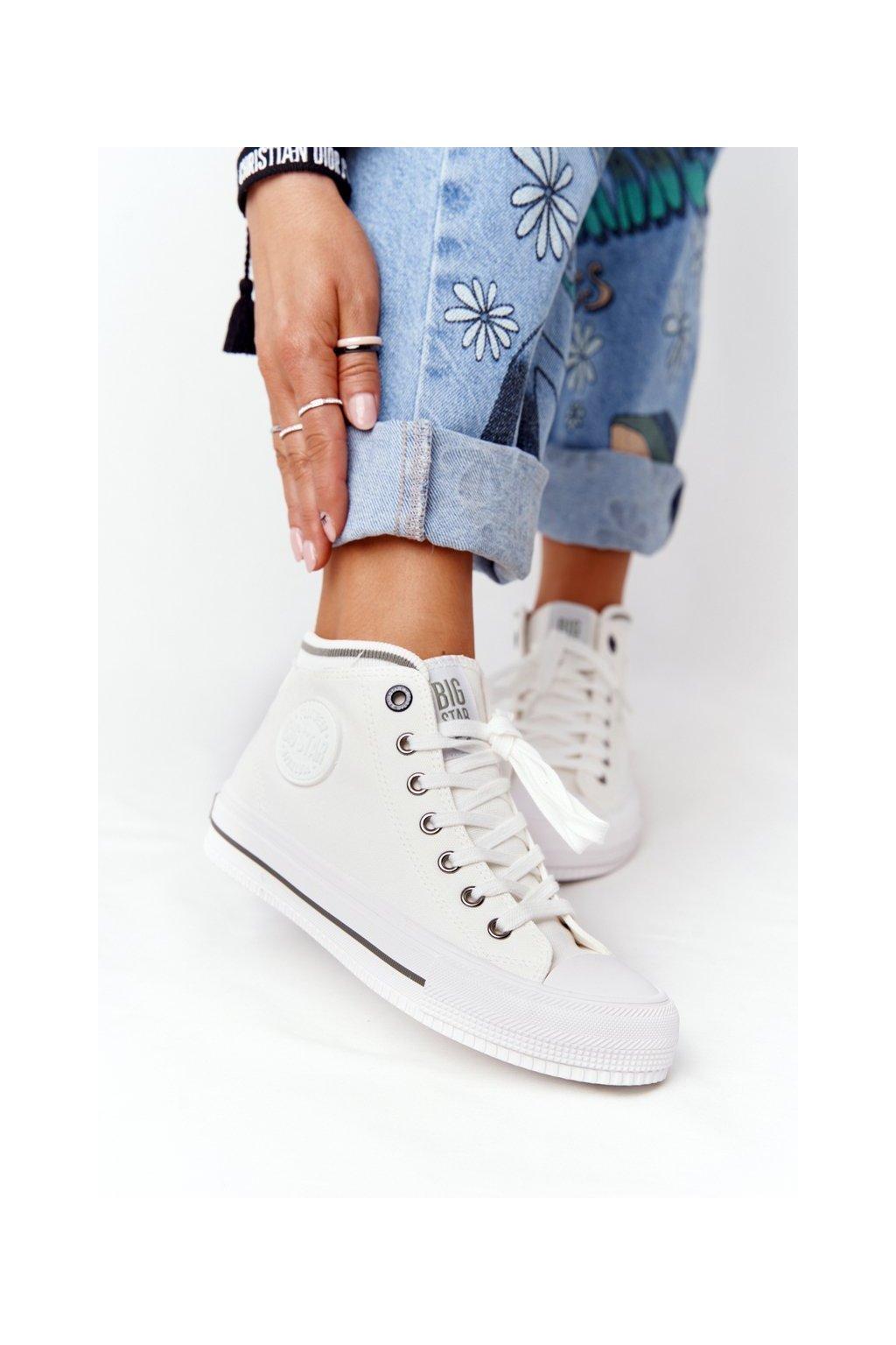 Dámske tenisky farba biela kód obuvi HH274149 WHITE