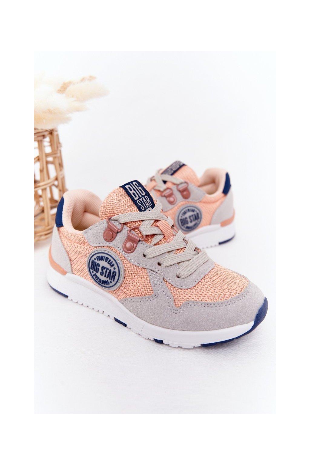 Dámske tenisky farba viacfarebná kód obuvi HH374180 LT.ORANGE